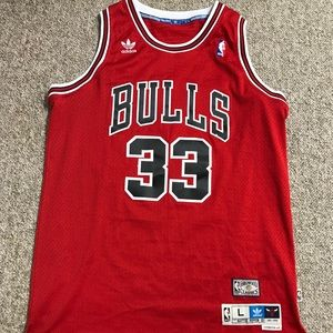 Authentic adidas Chicago Bulls pippen jersey